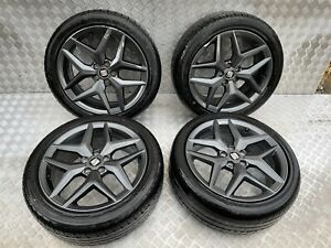2018 SEAT IBIZA FR MK5 SET OF ALLOY WHEELS WITH TYRES 17 INCH 215/45ZR17