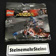 LEGO® 30447 Super Heroes Captain Americas Motorcycle Polybag New Neu OVP MISB