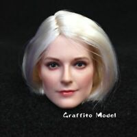 "DSTOYS D-OO1A 1/6 Beauty Head Sculpt Carving Model Suntan For 12"" Action Figure"