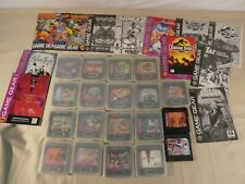 Lot of 19 Sega Game Gear Games