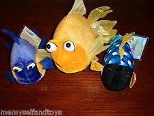 Webkinz Fantail Goldfish Purple Goldfish Lil Kinz Triggerfish Unused Codes Ganz