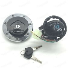 Ignition Switch Fuel Gas Cap For kawasaki ZX6R 2000-2002 ZX9R 94-03 ZX7R/ZX7RR