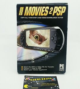 123 - Movies 2 PSP DVD Transfer (Disc Software ) Complete Sealed