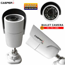 Full HD  CCTV Bullet Outdoor Security Camera 2MP 1080P IR Night Vision White