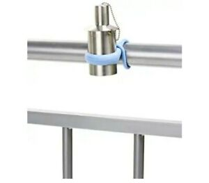 Stainless BLUE Patio Torches  Outdoor Patio Railing  Oil Lamp (2 Pack) (AB1)
