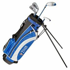 Children's Golf Set Right Hand 4 Clubs 9 To11 Yrs Old Junior Stand Bag Beginners
