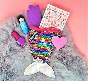 MERMAID Pamper Gift Set Beauty Kit Make up pouch Children's Kids Girls Birthday