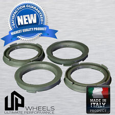 NEW POLYCARBONATE HUB CENTRIC HUBCENTRIC RING RINGS FOR 73.1  WHEELS to 54.1 CAR