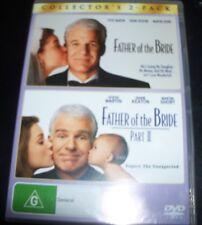 Father Of The Bride Part I & II (Movie 1 & 2) (Australia Reg 4) DVD – New