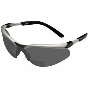 3M BX Bifocal Safety Glasses With Gray Anti-Fog Lens