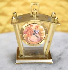 Antique Futura Watch Mini Desk Swiss Made Rare Vintage Collectors Clock WORKS