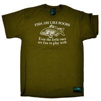 Fishing T-Shirt Funny Novelty Mens tee TShirt - Fish Are Like Boobs