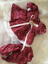 fits  MY CHILD DOLL CLOTHES ABC DRESS fall brown