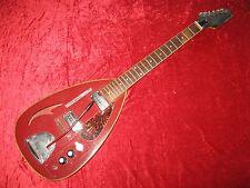 """RARITÄT! Ca. 60er Jahre Teardrop E-Gitarre """"Lion, Foreign"""" ; zur Überarbeitung"""