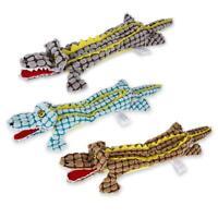 #QZO Pet Dog Toy Bite Resistance Squeak Crocodile Molar Cleaning Training Toys