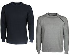 Mens Jack & Jones Sweatshirt Crew Neck Long Sleeve Navy Grey Designer All Sizes