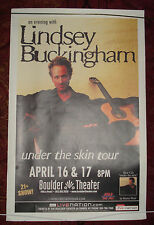 Lindsey Buckingham (of Fleetwood Mac) Under The Skin Poster Lot (4)