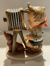 "Vintage 1948 Hummel Figurine ""The Photographer"" #178 Goebel Germany Wow !"