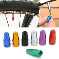 HK BG/_ 2PC Bicycle Stem Tyre Bike Fixie MTB Presta Wheel Rims Valve Caps Dust C