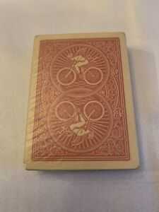 Vintage Sealed Bicycle Red Back Cupid Playing Card Deck Glassine Wrapper