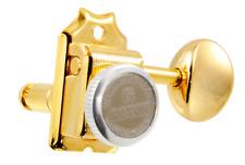 Gotoh Gold Locking Button Vintage Tuners Fender Strat/Tele® Guitar TK-0769-002