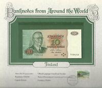 World Banknotes Finland 1980 10 Markkaa P111a.50 UNC Holkeri - Hamalainen