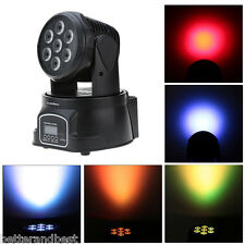 100W RGBW LED Stage Light Moving Head Lamp Club Party Show DJ Bar Par Lighting