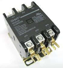 Definite Purpose Contactor HVAC 50 Amp 50A 3 Pole 120V 120 Volt Coil UL Listed