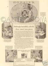 VTG 1927 HOOSIER Kitchen Cabinet Cupboard Furniture BEAUTY Navajo Welsh Oak AD