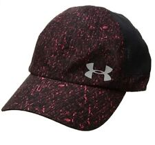 Under Armour Women's Fly By ArmourVent Cap,Marathon Red/Silver,One Size, 0010
