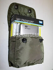 US Army First Aid Medical Instrument Utility Supply Pouch OD Green w Alice Clips