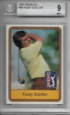 1981 Donruss Golf #46 Fuzzy Zoeller BGS 9 Mint $$$$