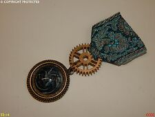 Steampunk Medal pin drape badge brooch dragon game of thrones Harry Potter