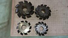 Milling Cutters x 4.mill,lathe,metal,steel,house,workshop,tools,turning,shed,