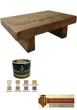 Less than 60cm Height Wooden Coffee Tables with Shelves