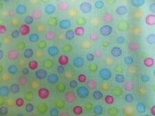 WTW Fabric Crazy Daisy Kaufman Sampou  Dot Mod Geometric Pattern BTY Quilt