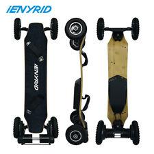 """3300W Motors Super Off Road Electric Skateboard 25MPH 46"""" Heavy Duty Longboard"""