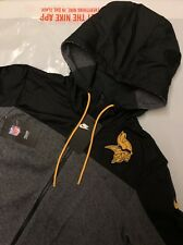 Nike NFL Pittsburgh Steelers Mens Thermal Hoodie Jacket Coat With Tags 2xl