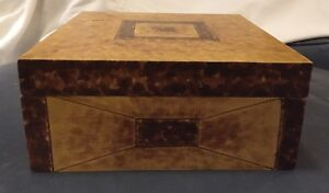 Faux-finished Wooden Decorative Box By Oriental Accent