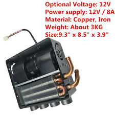 Universal 12V/8A Copper Underdash Compact Heater 12PCS Copper Tube+Speed Switch