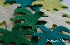 Feutre découpées Palmiers (8) Artisanat Embellissements