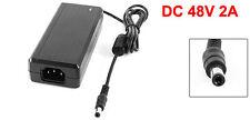 100V-240VAC Input 48V 2A DC Output Power Supply Adapter for CCTV Camera DVR