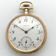 1911 E. Howard 17J 16s Series 9 Model 1905 14k Solid Gold Open Face Pocket Watch