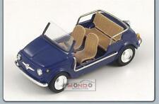 1:43 Spark Fiat 500 Jolly 1962 Dark Blue Sp1496  Modellino