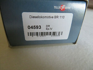 Tillig 04593 Diesellok BR 110 DR Ep. IV NEU & OVP