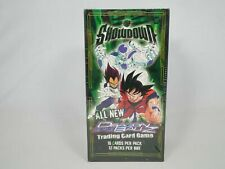Dragon Ball Z Showdown Booster Box New Factory Sealed