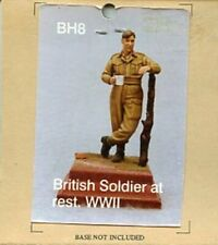 Hornet Models 1:35 WWII British Soldier at Rest Base not Included Kit #BH8