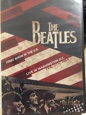 THE BEATLES: LIVE! IN WASHINGTON, DC 1964 DVD -Spanish Cover