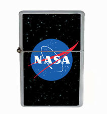 Nasa Rs1 Flip Top Oil Lighter Wind Resistant With Case