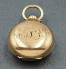 Sovereign Cases Coin Holder Gold Plated A.L.D Dennison Wathe Casf Co Collectable